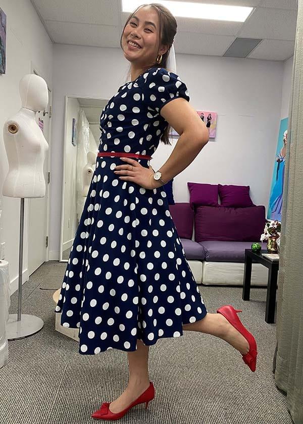 Custom Vintage dress