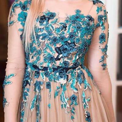 Evening Dress Hem