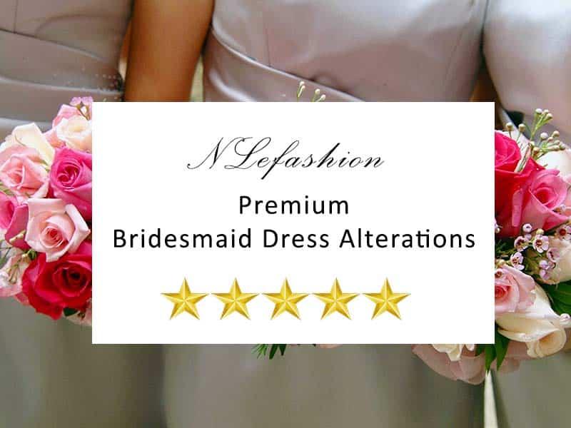 Toronto Bridesmaid Dress Alterations