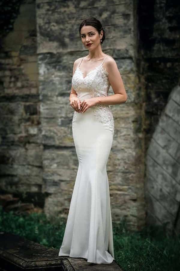 Sheath Bridal Gown